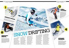 layouts magazine sports - Pesquisa Google