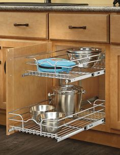 New Pull Out Wire Baskets for Cabinets