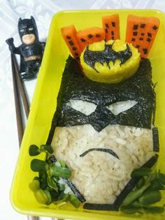 12 Awesome Batman Bento Box Recipes
