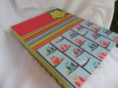 Whooo doesn't like Owls?? Owl Themed Memory or Keepsake Box  Child's Gift by MyMemoryBoxes, $54.00