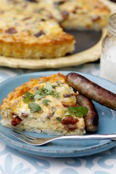 Saturday breakfast: Sausage Quiche with Hash Brown Crust for Thanksgiving morning. I loved this! The hash brown crust was yummy and made it really easy. Husband test: 7
