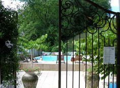 La terrasse et piscine