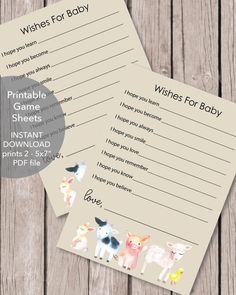 8X10 Resume Paper Printable Favor Sign  8X10  Baby Shower Party Favors  Pinterest .