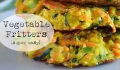 Vegetable Fritters - Easy Healthy Dinner Recipes | Quick and Easy Dinner Recipes