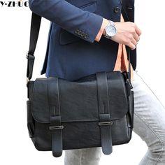 Cheap leather men messenger bag b944deec77fda