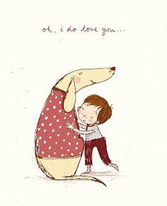 Alex T. Smith: Oh, I do love you...