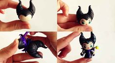Make a chibi Maleficent charm for your friend but end up keeping it. | 19 Awesome Craft Projects You Can Make With Polymer Clay