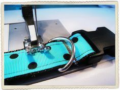 How to make your own dog collar. This looks so easy! I'm totally doing this for my sweetie.