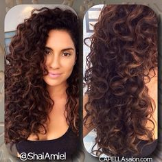 Beautiful Ideas for Long Curly Hair Curly Hair Tips, Long Curly Hair, Curly Hair Styles, Natural Hair Styles, Curly Perm, Permed Hairstyles, Pretty Hairstyles, Pinterest Hair, My Hairstyle