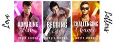 """It's been a week since the first three books in my latest contemporary gay romance series, """"Love Letters"""", were released. Bad Temper, Boy Meets, Love Letters, Rage, Nerdy, The Neighbourhood, Sunday, Challenges, Romance"""