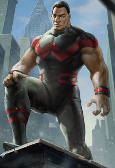 Wonder Man (Simon Williams) Marvel Comics Art, Marvel Heroes, Comic Superheroes, Marvel Comic Character, Marvel Characters, Superhero Images, All Avengers, Man Beast, Wonder Man