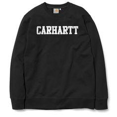Carhartt WIP College Sweatshirt - Black/White