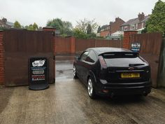 2006 Ford Focus ST in this afternoon for headlight and rear light tints.