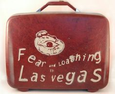 Red suitcase game Durham, Hunter Thompson, Las Vegas, Fear And Loathing, Curiosity Shop, Fun Board Games, Movie Lines, Great Movies, Johnny Depp