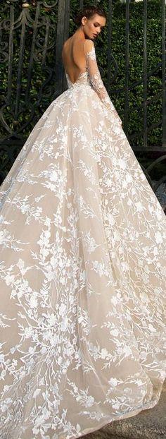 Wedding Dress by Milla Nova White Desire 2017 Bridal Collection - Azalia 1