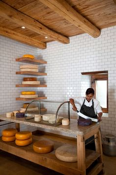 Cheese shop interior woods 21 Ideas for 2019 Cafe Bar, Cafe Restaurant, Restaurant Design, Cheese Restaurant, Fromage Cheese, Cheese Bar, Deli Shop, Cheese Store, Food Retail