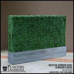 Choosing the Right Foliage & Artificial Plants in Metal Commercial Planters
