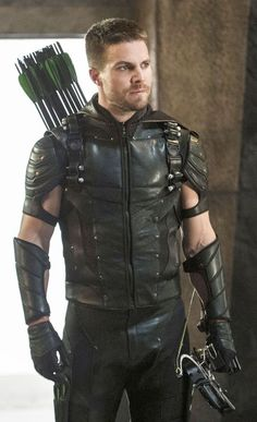 The Green Arrow aka Oliver Queen aka Stephen Amell