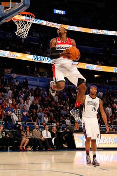 John Wall with the dunk.