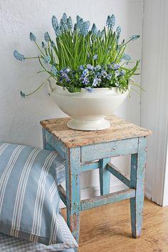 Bowls of flowers always brighten a room #SpringByYou