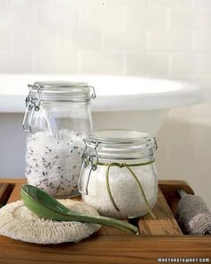 Homemade Bath Salts How-To