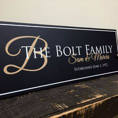 Welcome to Jetmak Studios! The #1 in custom family name signs and personalized home decor products. When you're looking for a high quality custom wood sign, turn to the company that can get the job do