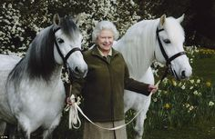 Breeding Highland ponies at her Balmoral estate, the Queen is known for being a keen equestrienne
