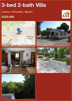 3-bed 2-bath Villa in Javea, Alicante, Spain ►€225,000 #PropertyForSaleInSpain