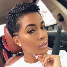 25 Cute & Beautiful Tapered Haircuts for Natural Hair Natural Hair Haircuts, Natural Hair Short Cuts, Natural Hair Styles For Black Women, Short Hair Cuts, Tapered Haircut Natural Hair, Natural Hair Pixie Cut, Cute Short Natural Hairstyles, Grey Haircuts, Natural Tapered Cut