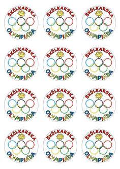 "Medaila ""Škôlkárska olympiáda"" | Nomiland.sk - obchod pre deti a materské školy"