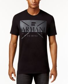 Armani All Over Print T Shirt