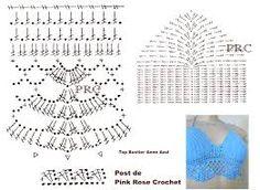 Resultado de imagen para top crochet passo a passo