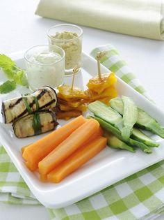 Pinzimonio con salsine