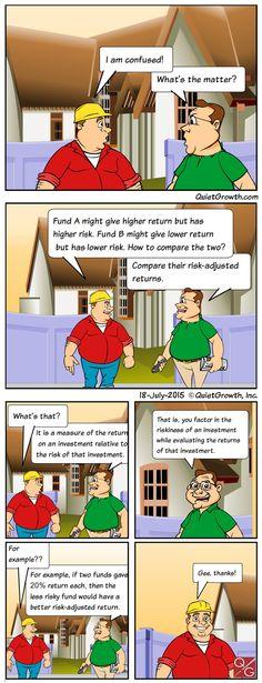 Cartoon 8: Risk-adjusted returns