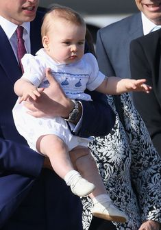 Prince George Photos - The Royal Couple Visit the New Zealand Police College - Zimbio