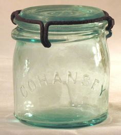 COHANSEY GLASS MANUFACTURING CO. Bridgeton, NJ.  Glass manufacture started in 1836.
