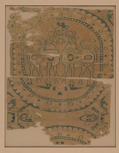 Textile with Horned Animals in a Pearl Roundel  Date: 7th–9th century  Culture: China (Xinjiang Autonomous Region, Central Asia)  Medium: Woven silk  Dimensions: Overall: 10 x 15 1/2 in. (25.4 x 39.4 cm) b.: 9 3/4 x 15 in. (24.8 x 38.1 cm)  Metropolitan Museum of Art
