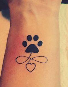 Tattoo Animal Print Ink Tat 33+ Ideas #tattoo Tatoo Dog, Dog Tattoos, Mini Tattoos, Animal Tattoos, Body Art Tattoos, Small Tattoos, Tatoos, Tattoos Skull, Trendy Tattoos