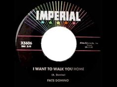 1959 HITS ARCHIVE: *I Want To Walk You Home* - Fats Domino - YouTube