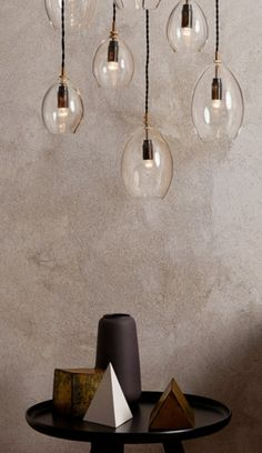 "Une pluie de lumi¨re Suspension ""Unika"" par Northern Lighting Un"