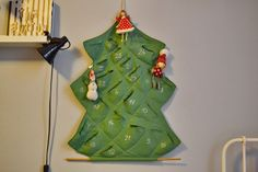 DIY Advent Calendar Diy Advent Calendar, Create, Holiday Decor, Projects, Home Decor, Log Projects, Blue Prints, Decoration Home, Room Decor