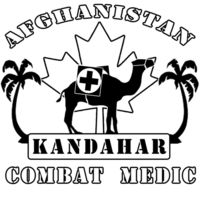 T-Shirts AFGHANISTAN KANDAHAR COMBAT MEDIC