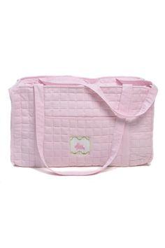 Duffle Bag- Pink Bunny
