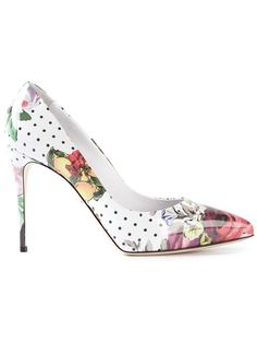 Shop Dolce & Gabbana floral print pumps in Larizia from the world's best independent boutiques at farfetch.com. Over 1000 designers from 300 boutiques in one website.