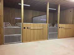 Horse Stall Fronts and Components