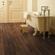 Great Bathroom Floor And Cheaper Than Tiles   Quickstep Lagune Bathroom  Laminate