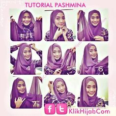 Tutorial Hijab Modern 53