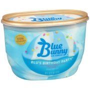 Swell Blue Bunny Blus Birthday Party Ice Cream 46Oz With Images Funny Birthday Cards Online Hendilapandamsfinfo