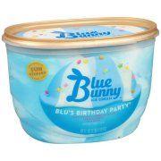 Surprising Blue Bunny Blus Birthday Party Ice Cream 46Oz With Images Funny Birthday Cards Online Inifodamsfinfo