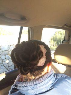 Rope Braid Bun